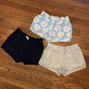 Girls lot 3/pair of shorts size 10 10/12 Gymboree
